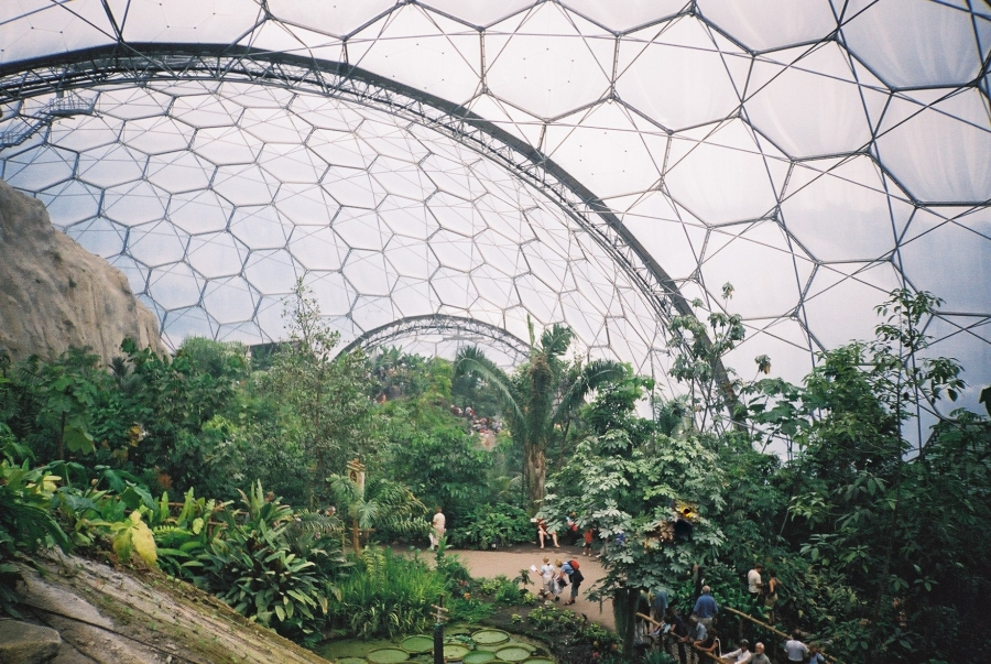 The eden project worlds largest geodesic greenhouse for The ecorium project