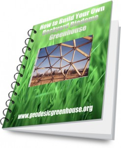 Bio dome green house plans