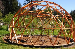 DIY Geodesic Dome Frame