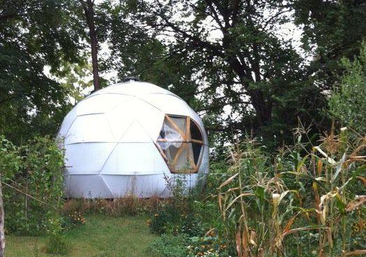 geodesic garden dome